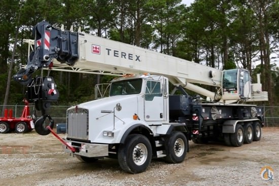 2018 Terex Crossover 8000 mounted to 2019 Kenworth T800 chassis Crane for Sale in Houston Texas on CraneNetwork.com
