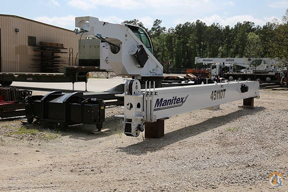 New Manitex 45110T 45-Ton Boom KnockdownBoom and Operator Cab for Tractor Mount Crane for Sale in Houston Texas on CraneNetwork.com