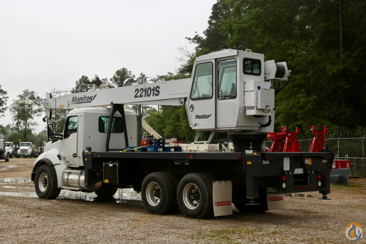 New 2019 Manitex 22101S mounted to Kenworth T880 chassis Crane for Sale in Houston Texas on CraneNetwork.com