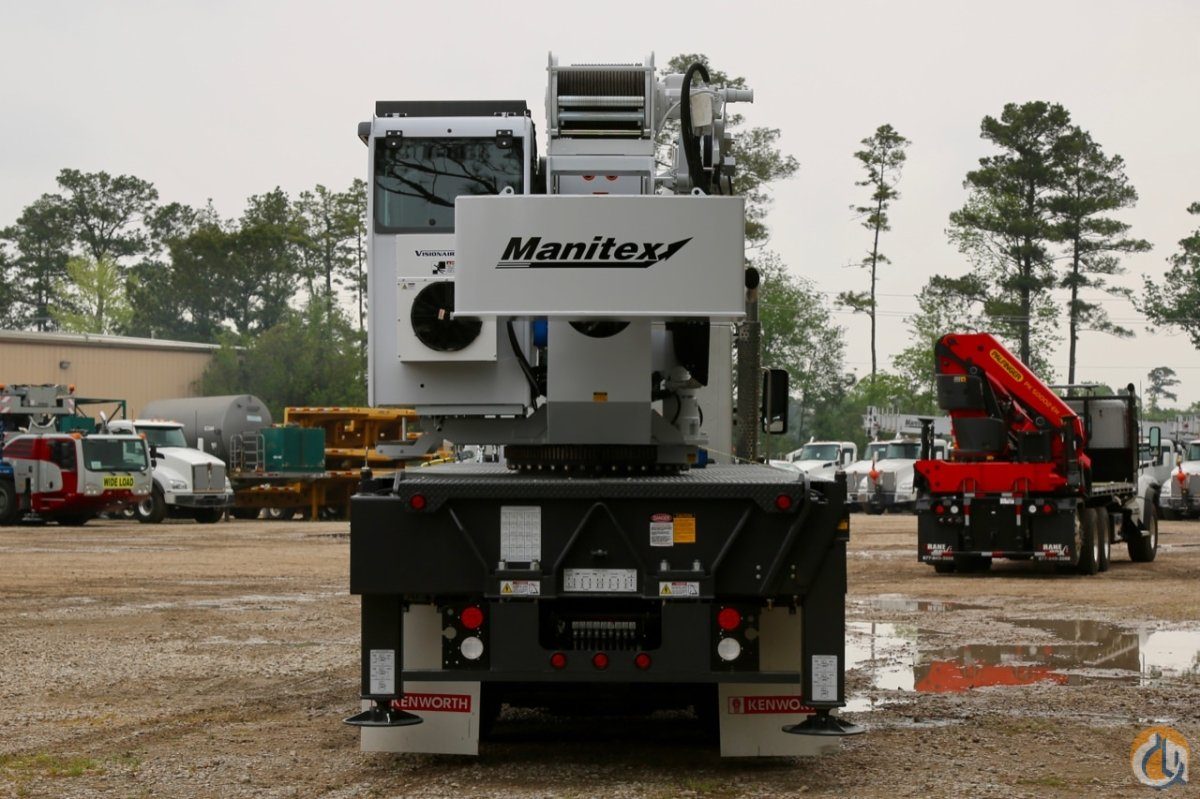 New 2019 Manitex 40124SHL mounted to Kenworth T880 chassis Crane for Sale in Houston Texas on CraneNetwork.com