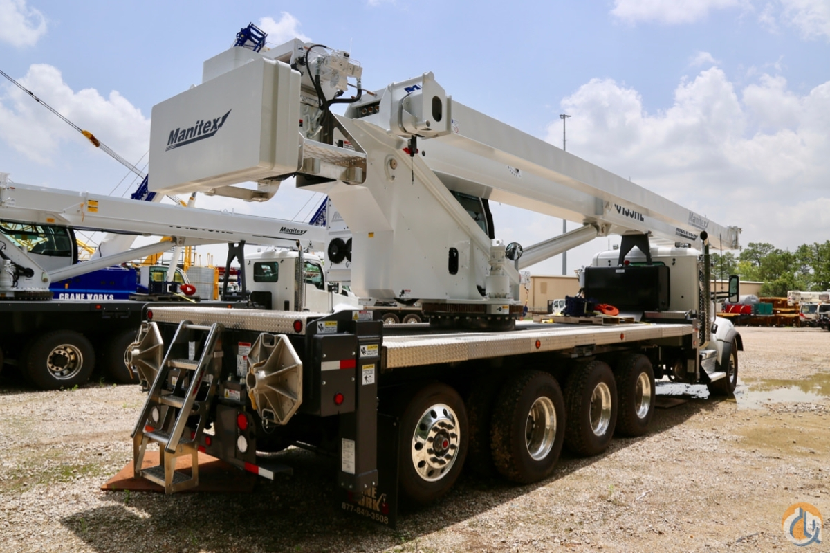 New 2019 Manitex TC50155HL mounted to Kenworth T880 chassis Crane for Sale in Houston Texas on CraneNetwork.com