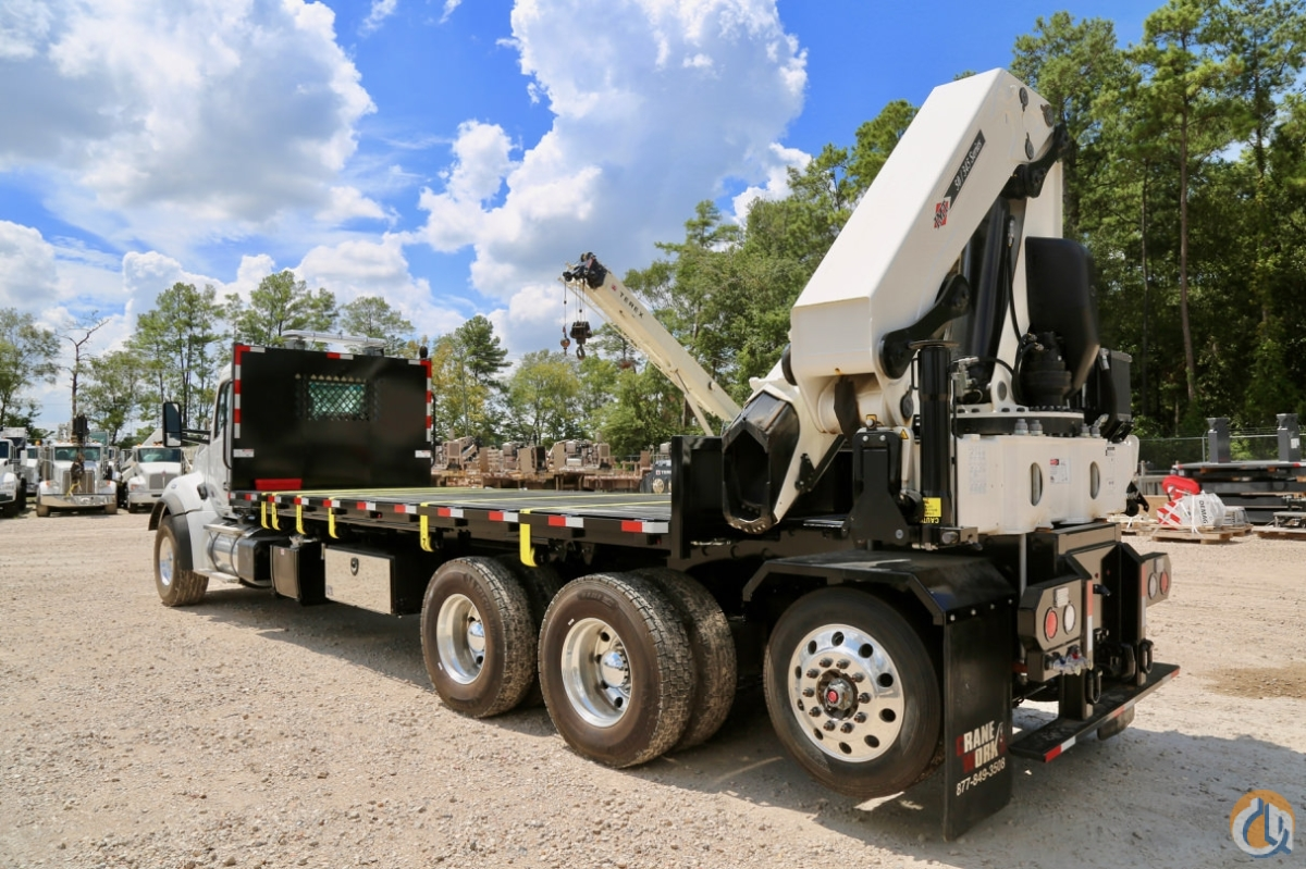 New 2018 IMT 50345 K2 knuckle boom mounted to Kenworth T880 chassis Crane for Sale in Houston Texas on CraneNetwork.com