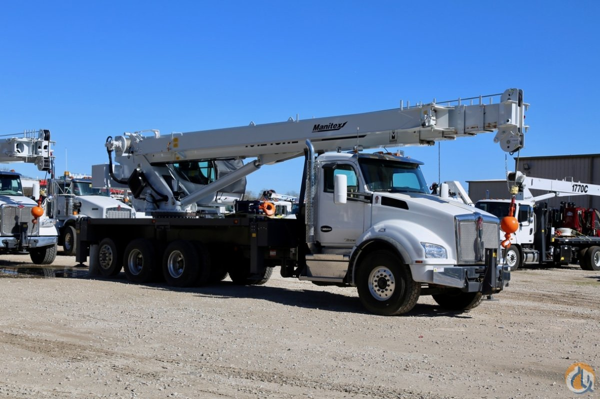 New 2019 Manitex TC40142 boom truck Crane for Sale in Houston Texas on CraneNetwork.com