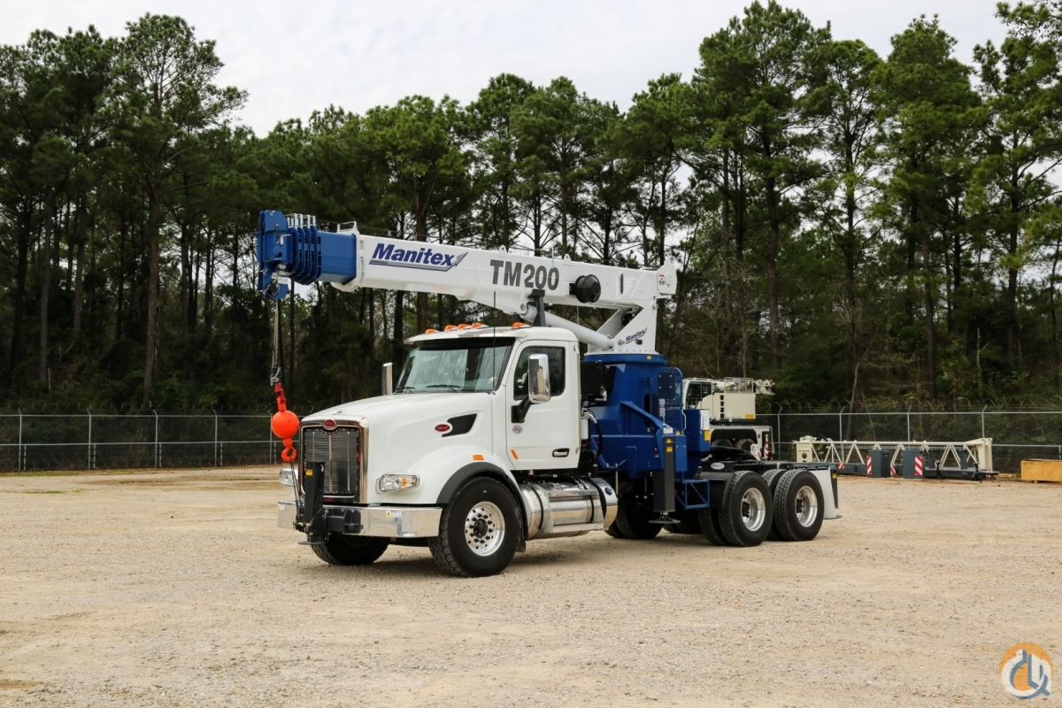 New Manitex 2085T  TM200 mounted to 2017 Peterbilt 567 chassis Crane for Sale in San Marcos California on CraneNetworkcom