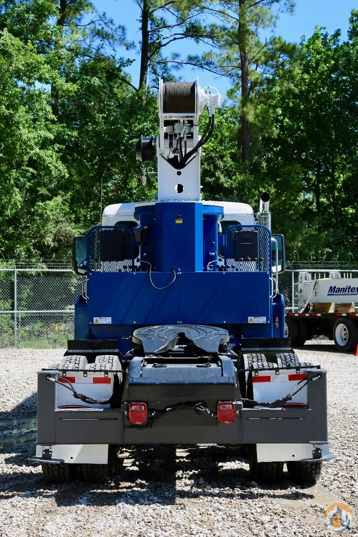 New Manitex 2085T  TM200 mounted to Peterbilt 567 chassis Crane for Sale in Houston Texas on CraneNetworkcom