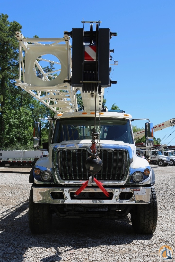 New Terex Crossover 4500L mounted to International WorkStar 7500 chassis Crane for Sale in Houston Texas on CraneNetworkcom