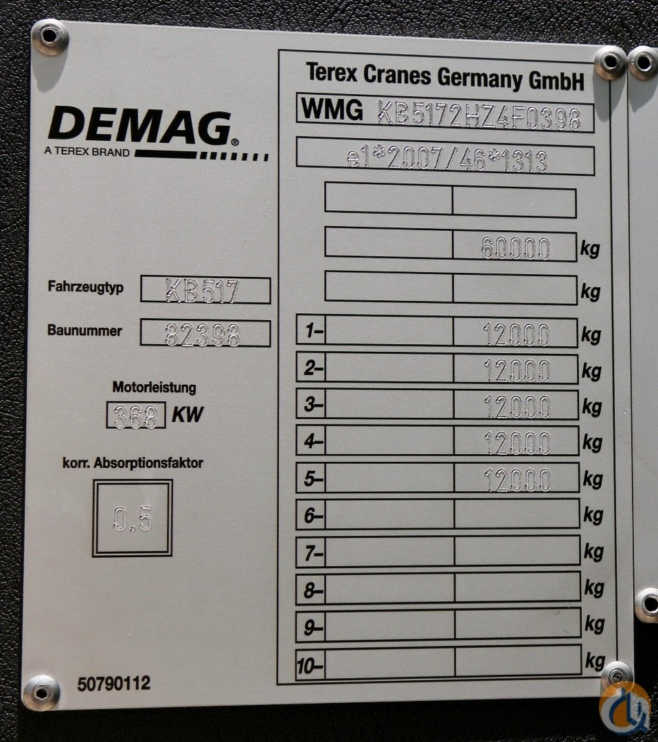 Sold Be one of the first in the USA to own a Demag AC 220-5 Crane for  in Houston Texas on CraneNetwork.com
