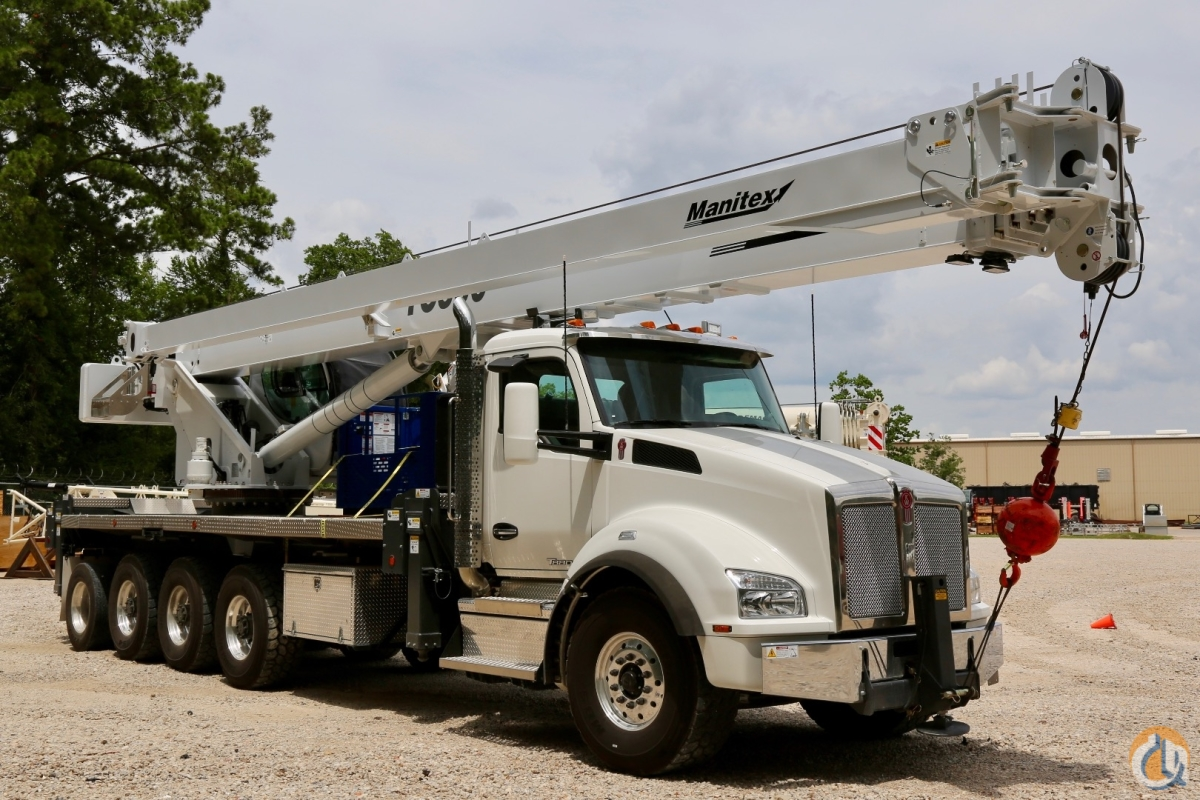 New Manitex TC50155SHL mounted to 2018 Kenworth T880 chassis Crane for Sale in Houston Texas on CraneNetwork.com