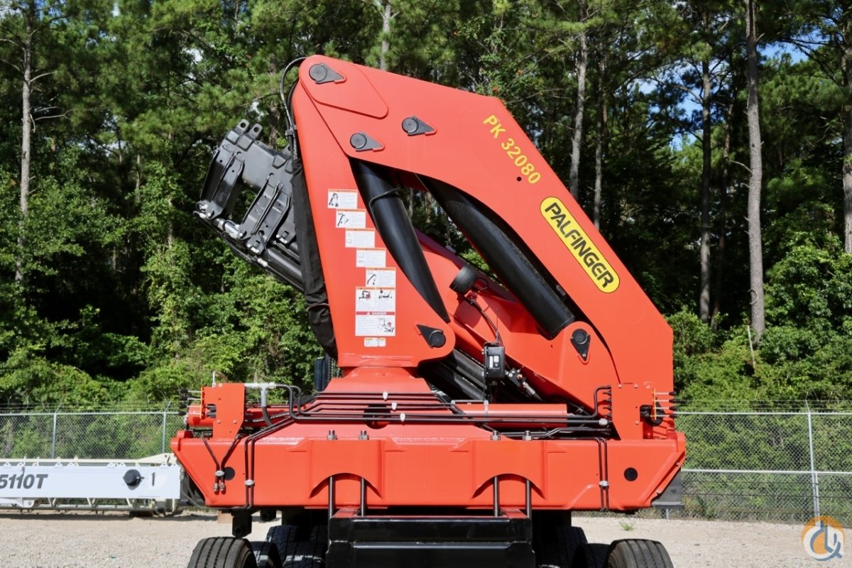 Sold New 2017 Palfinger PK 32080 D knuckle boom Crane for in Houston Texas  on CraneNetwork.com