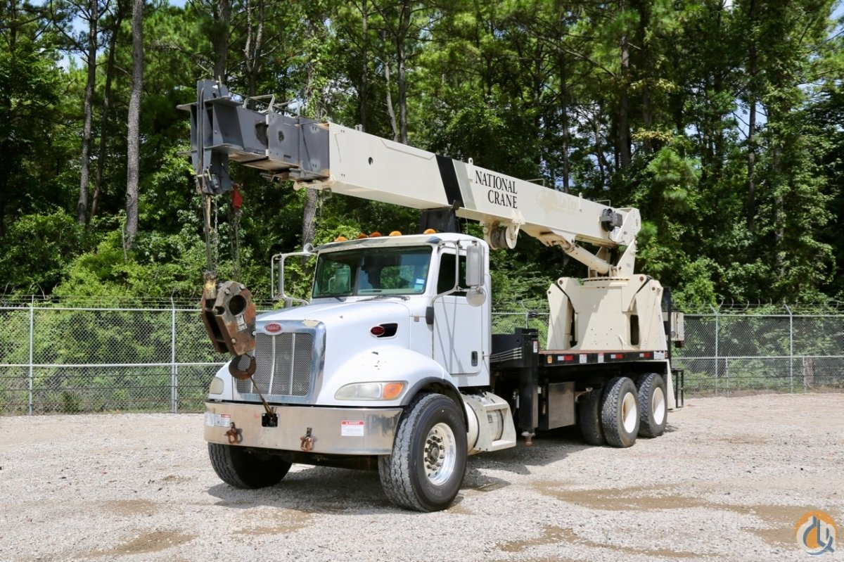 Sold Used National 9125A mounted to 2007 Peterbilt 340 chassis Crane for  in Houston Texas on CraneNetwork.com