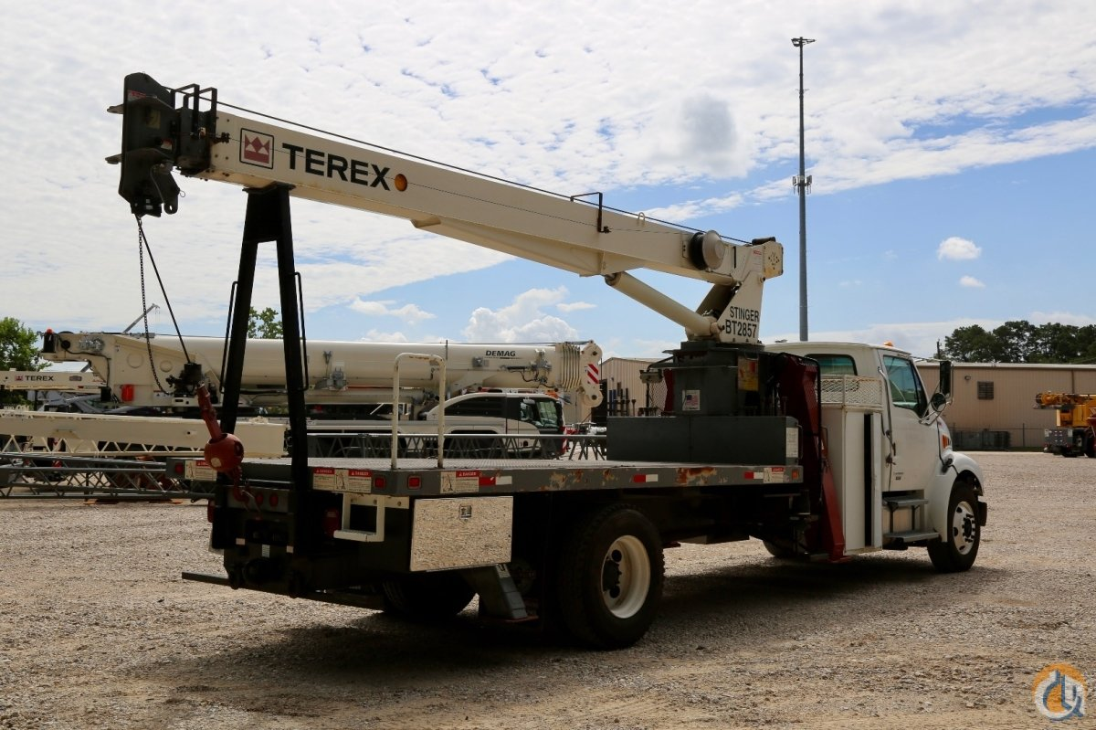 Used Jib Cranes Houston : Used terex stinger bt mounted to sterling acterra