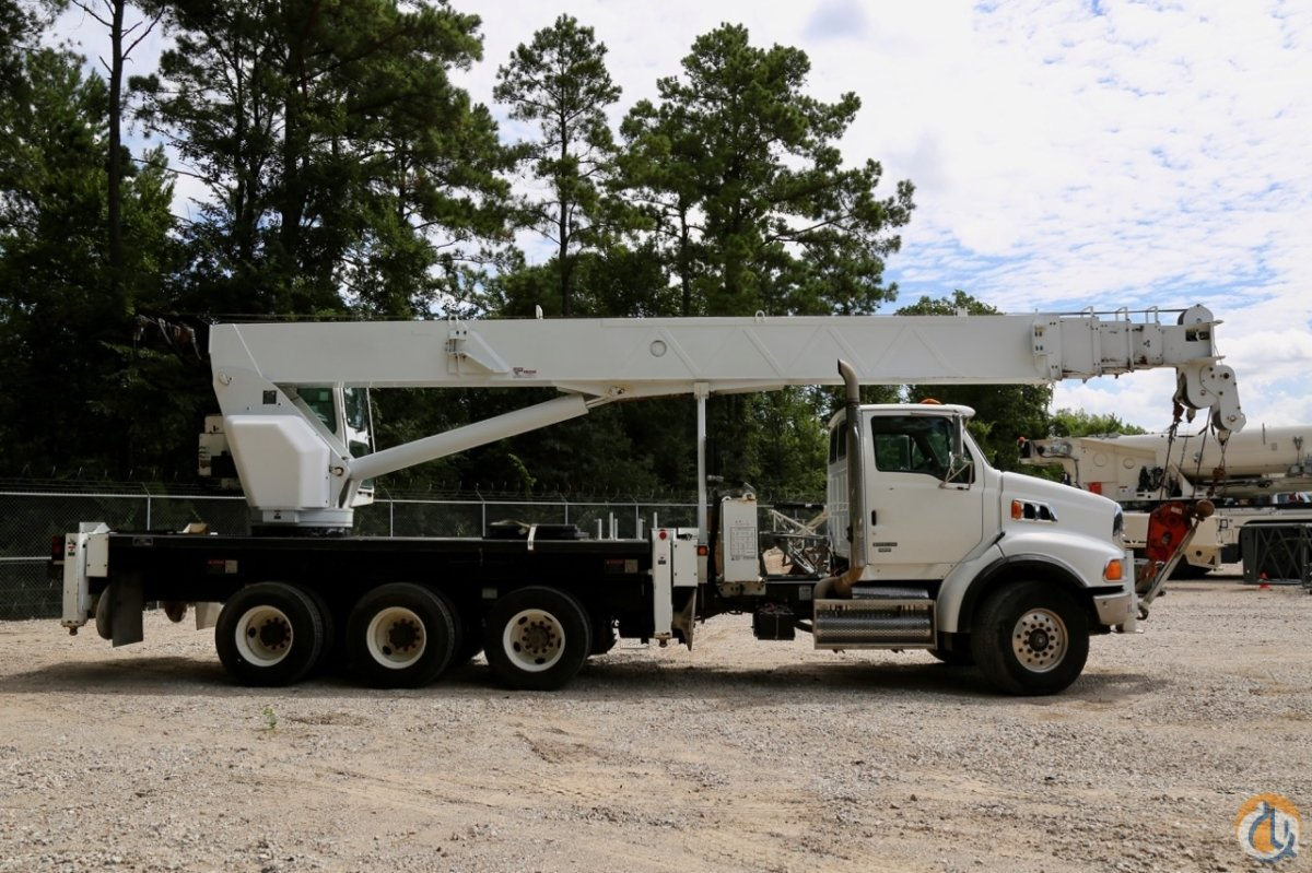Used Altec AC38-127S-WS mounted to 2008 Sterling LT7500 chassis Crane for Sale in Houston Texas on CraneNetworkcom