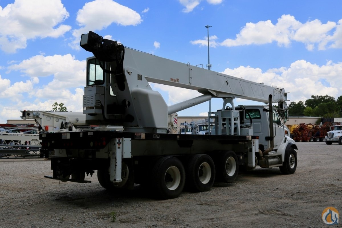 Sold Used Altec AC38-127S mounted to 2008 Sterling LT7500 chassis Crane for  in Houston Texas on CraneNetwork.com