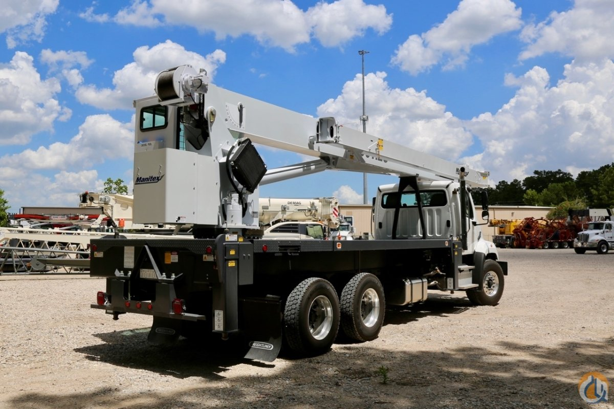 New Manitex 30112S mounted to Freightliner 1080SD chassis Crane for Sale in Houston Texas on CraneNetwork.com