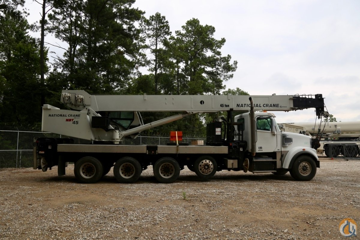 Used Jib Cranes Houston : Used national nbt mounted to freightliner