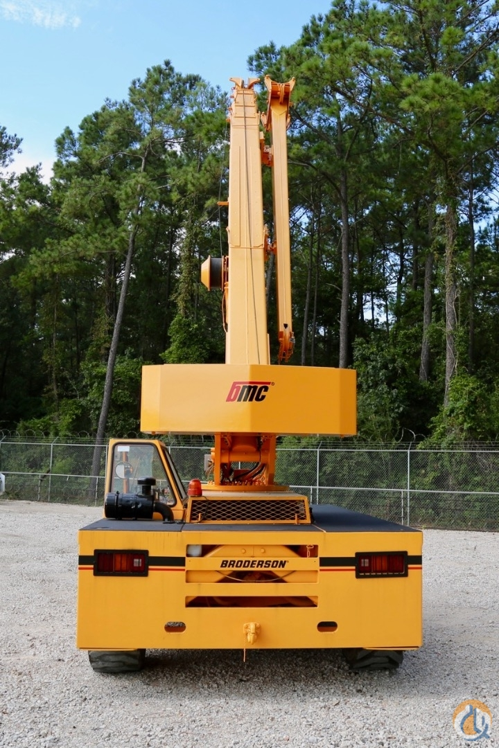 Used 2005 Broderson IC-200-3F carry deck crane Crane for Sale in Houston Texas on CraneNetwork.com