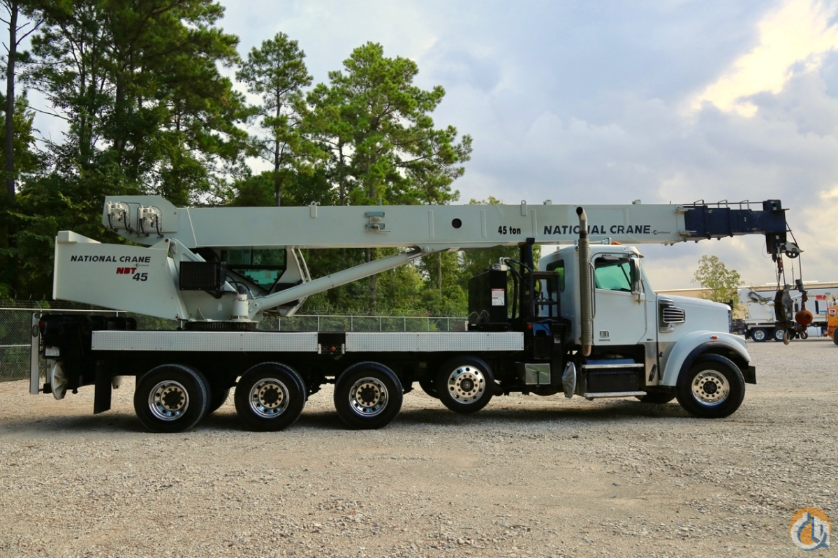 Used National NBT45-127 mounted to 2011 Freightliner Coronado chassis Crane for Sale in Houston Texas on CraneNetwork.com