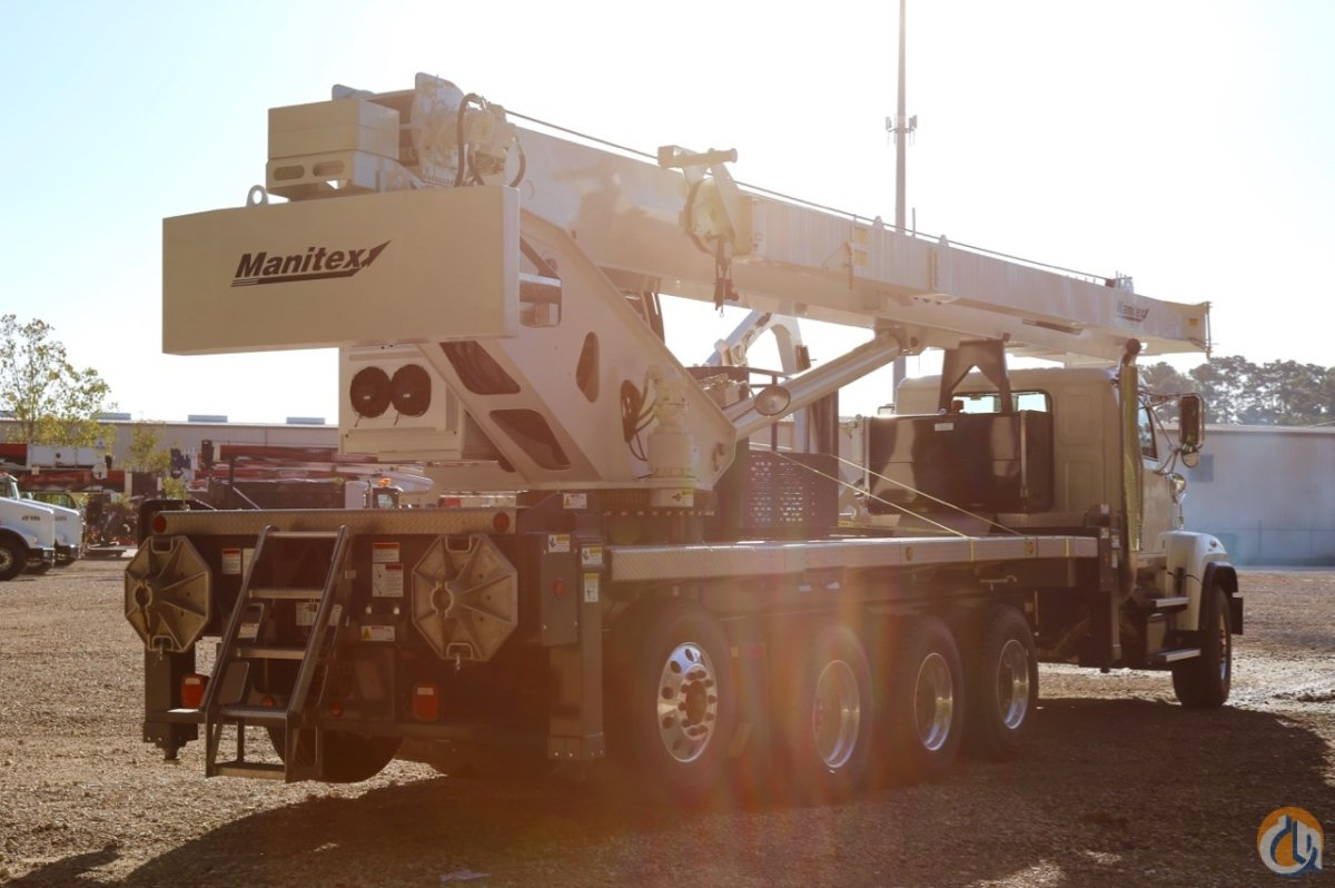 Sold New Manitex TC45142TC450 mounted to 2018 Western Star 4700 chassis Crane for  in Houston Texas on CraneNetwork.com