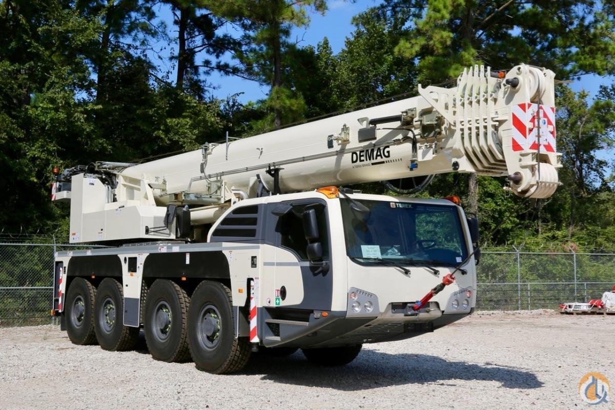 Sold New Demag AC100-4L all terrain crane Crane for in Houston Texas on  CraneNetwork.com