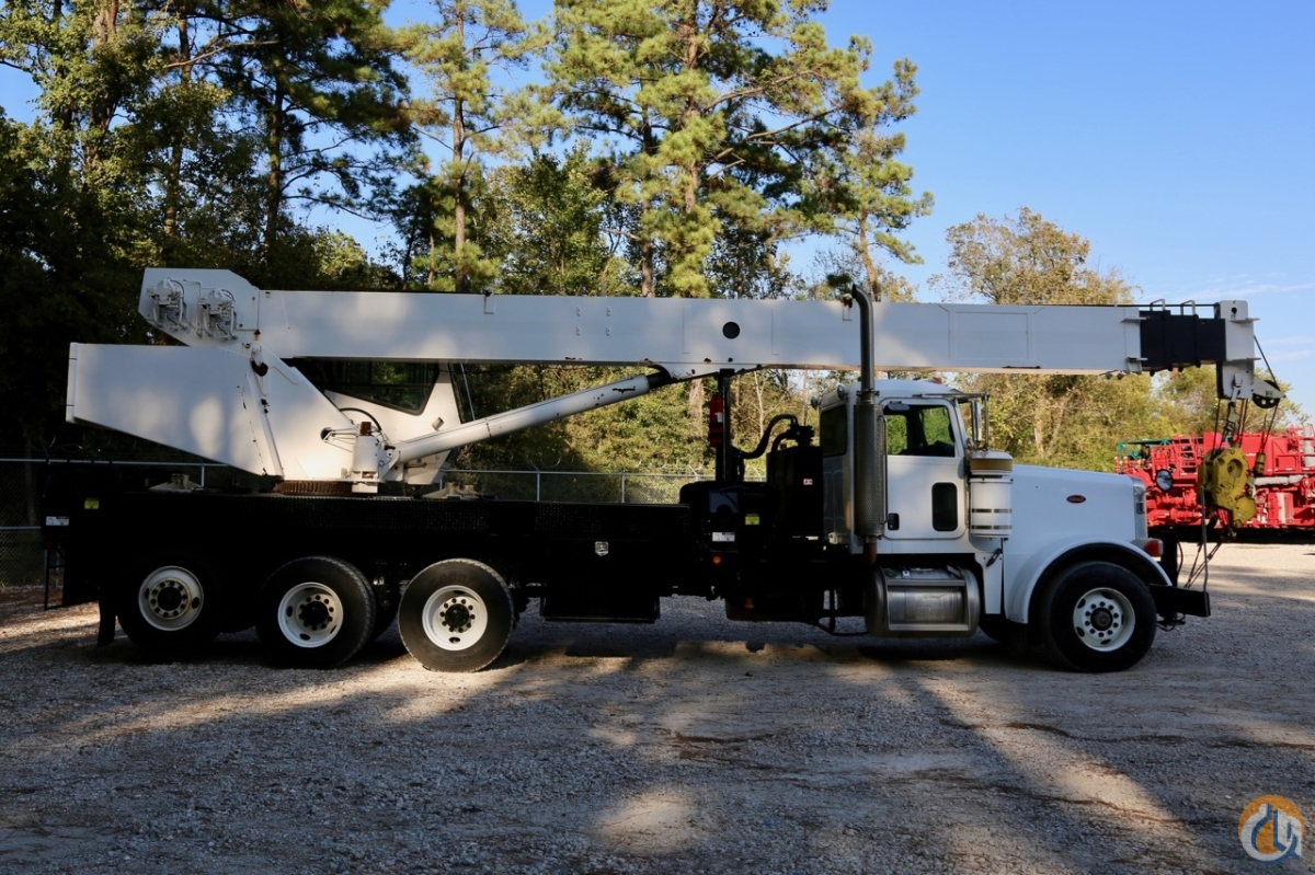 Used National 18103 mounted to 2006 Peterbilt 378 chassis Crane for Sale in Houston Texas on CraneNetwork.com