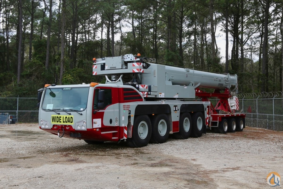 Used 2017 Demag AC100-4L all terrain crane Crane for Sale in Houston Texas  on CraneNetwork.com