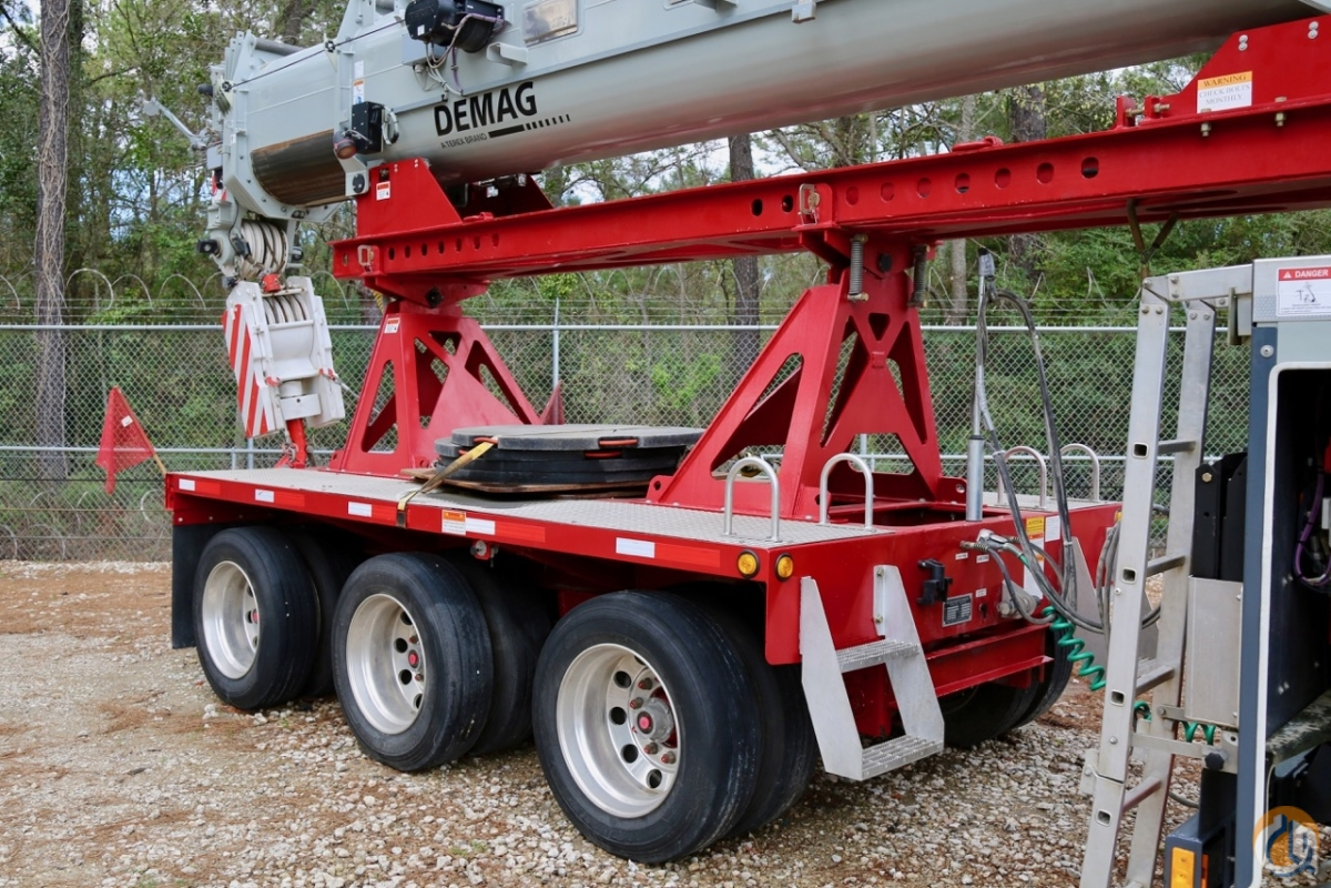 Used 2017 Demag AC100-4L all terrain crane Crane for Sale in Houston
