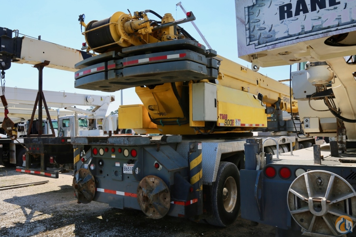 Used 2004 Grove TMS900E truck crane Crane for Sale in Houston Texas on CraneNetwork.com
