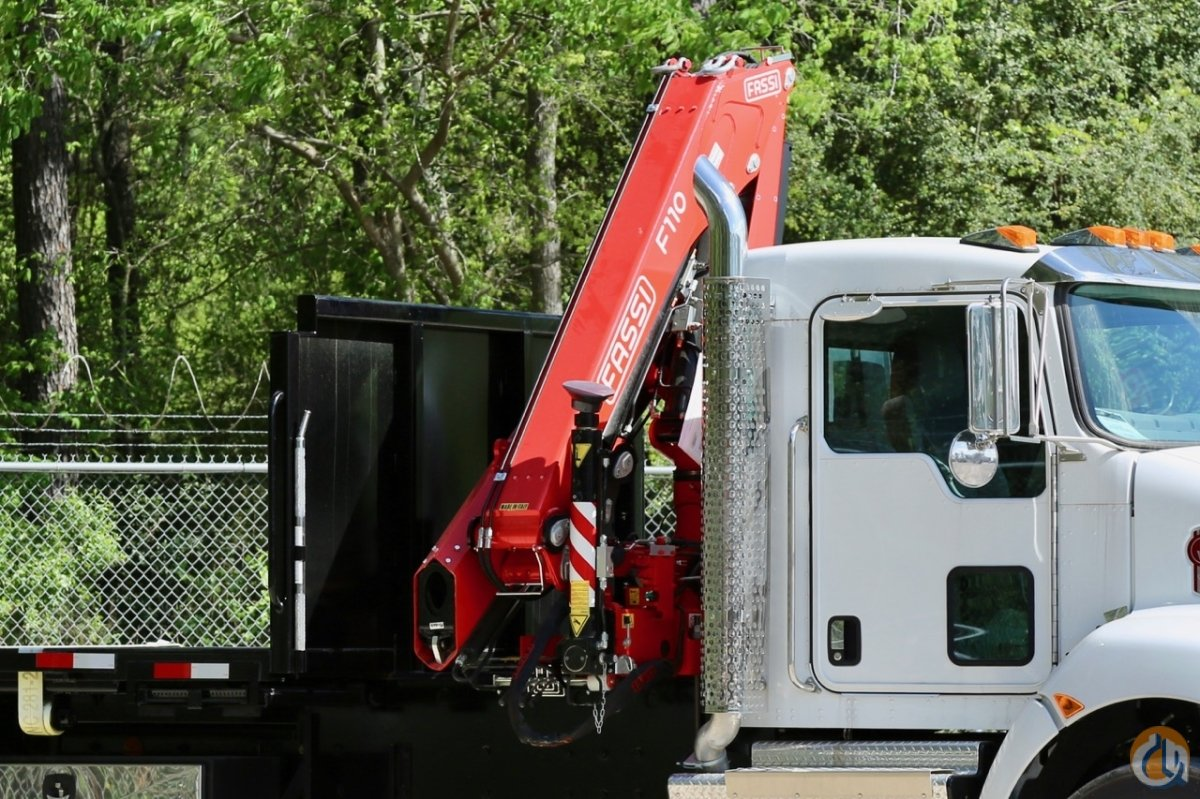 New 2017 Fassi F110B.1 dynamic knuckle boom crane unmounted Crane for Sale in Houston Texas on CraneNetwork.com