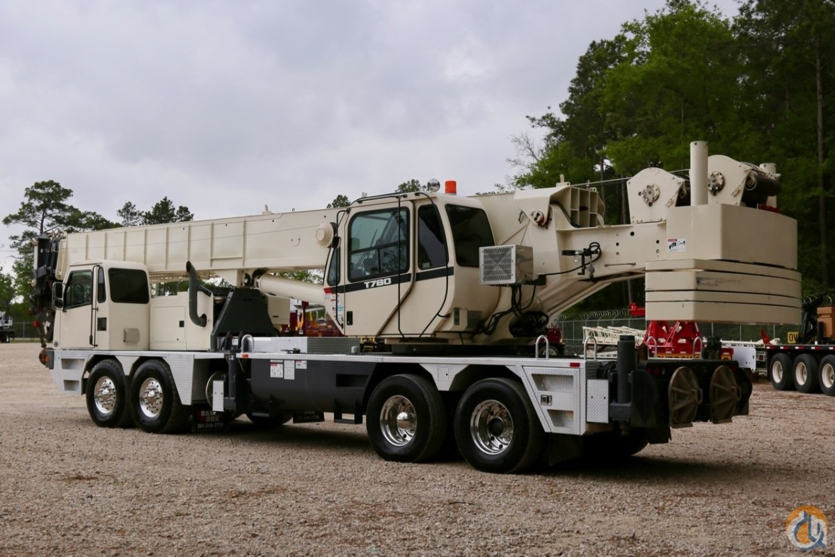 Used 2014 Terex T780 hydraulic truck crane Crane for Sale in Houston Texas on CraneNetwork.com
