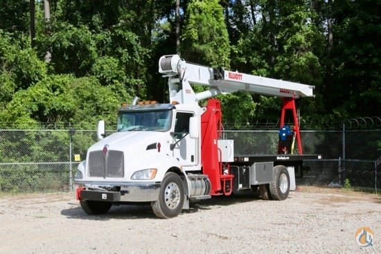 New Elliott 1870F boom truck mounted to 2019 Kenworth T370 ... on