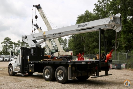 New Manitex 30102C boom truck crane mounted to 2019 Kenworth T370 chassis Crane for Sale in Houston Texas on CraneNetwork.com