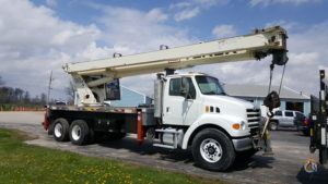 Sold 2007 Sterling LT 7500 35 Ton Terex RS70100 Crane for  in Perrysburg Ohio on CraneNetwork.com