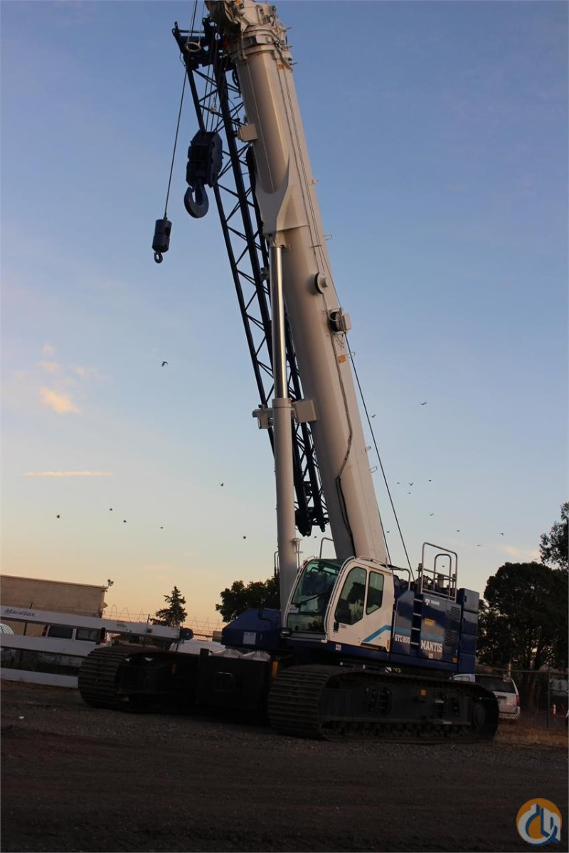 2017 TADANO MANTIS GTC 800 Crane for Sale or Rent in Sacramento California on CraneNetwork.com