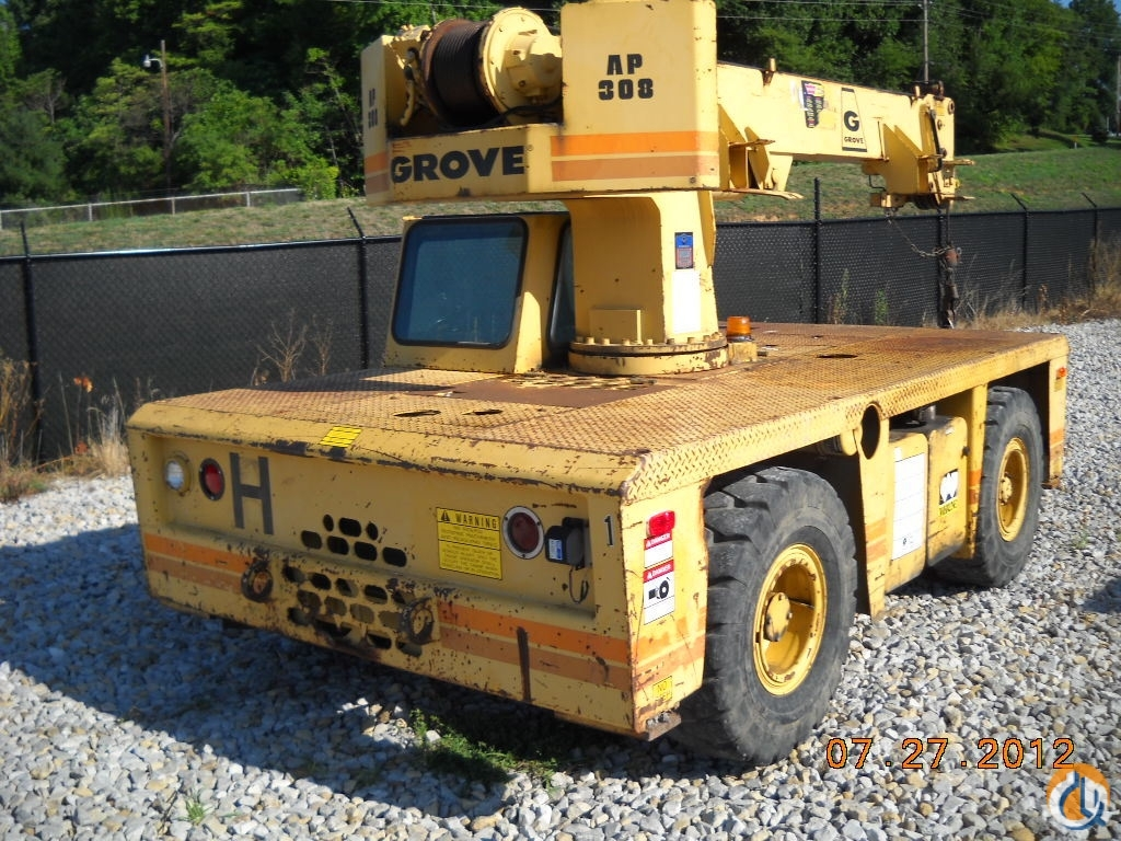 Grove AP308 Crane for Sale in Owensboro Kentucky on CraneNetwork.com