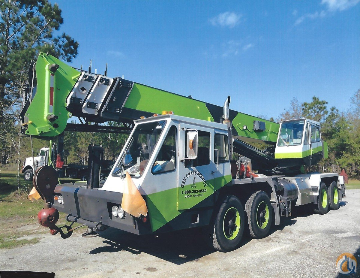 1985 PH OMEGA T400 XL Crane for Sale in Brooksville Florida on CraneNetwork.com