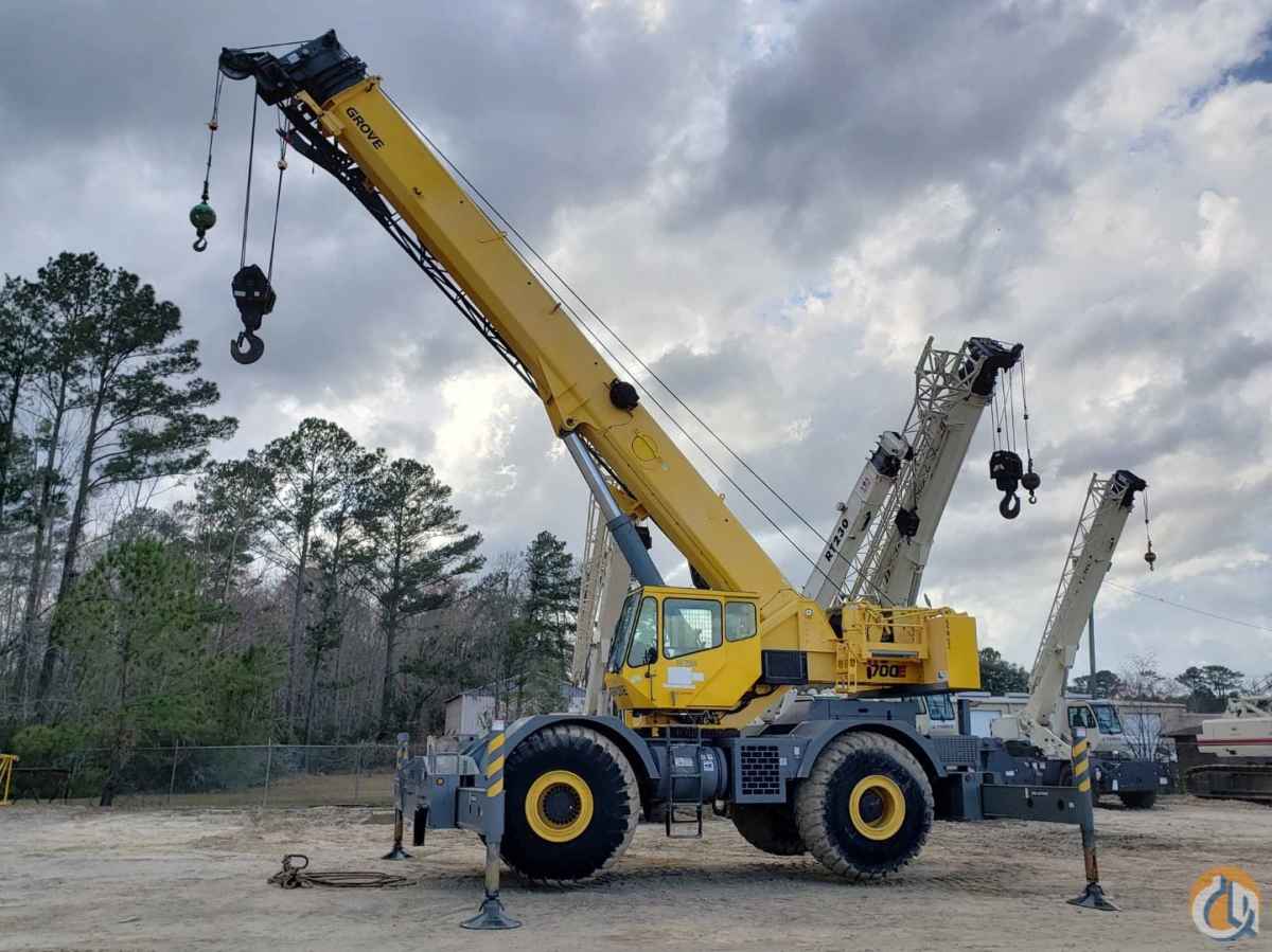 2008 GROVE RT-760E Crane for Sale or Rent in Savannah Georgia on CraneNetwork.com