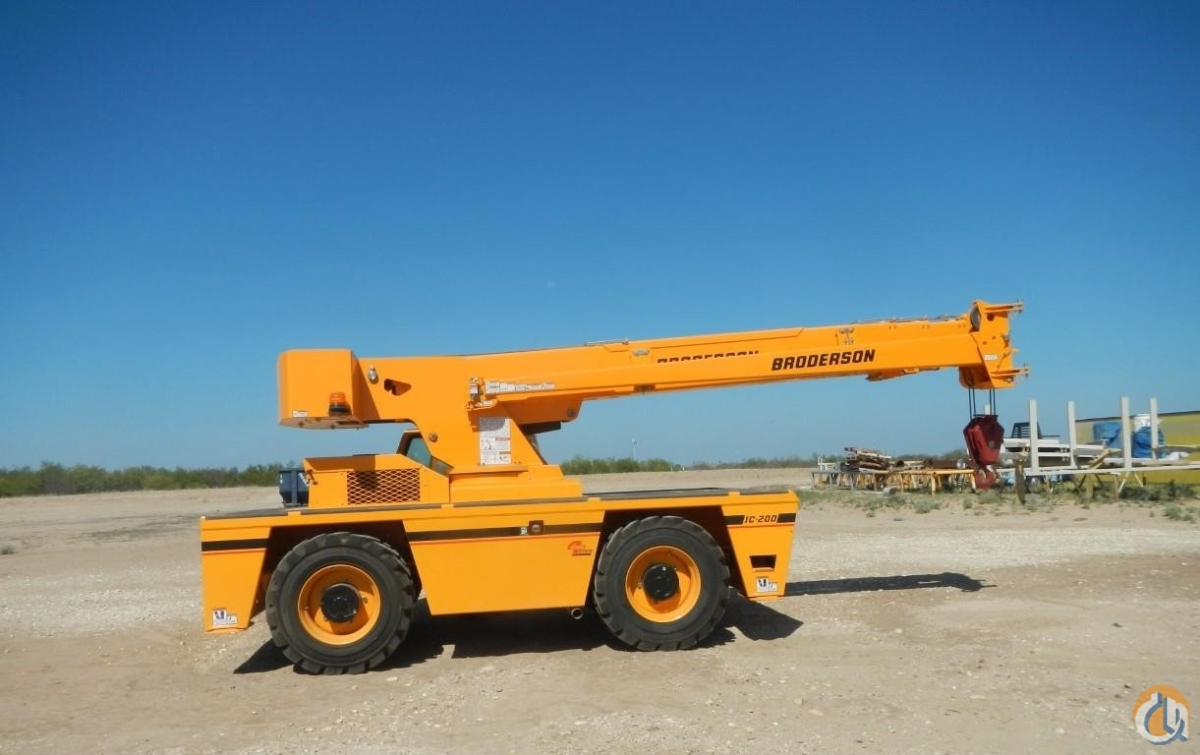 2016 BRODERSON IC200-3H Crane for Sale in Houston Texas on CraneNetwork.com
