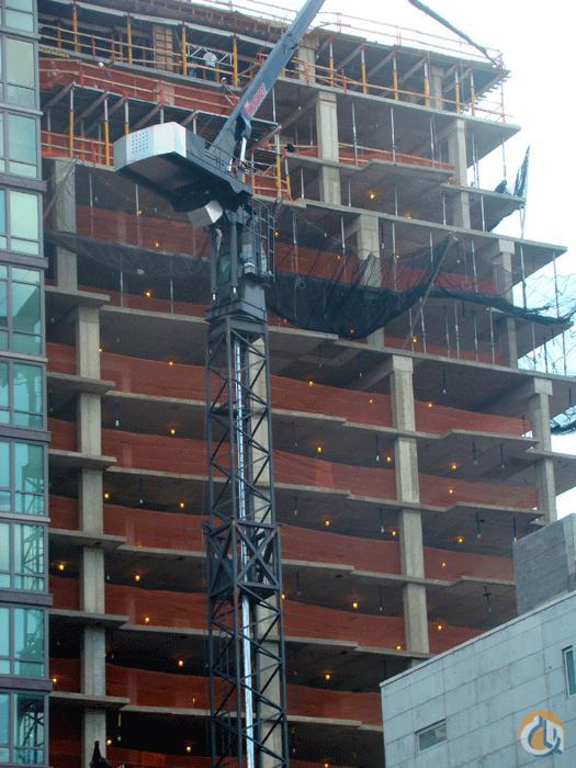 Tower Crane New York : Sold crane for in new york on cranenetwork