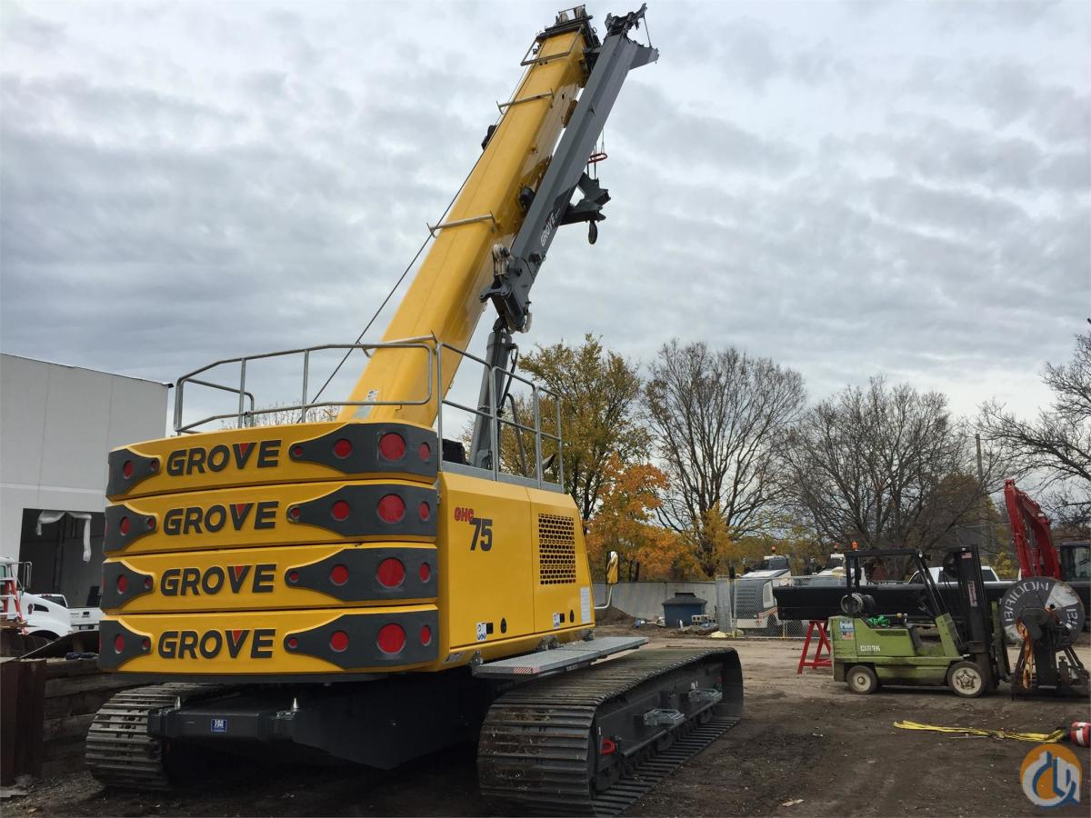 2015 GROVE GHC75 Crane for Sale in Bloomington Minnesota on CraneNetwork.com