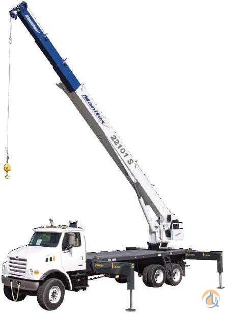 2017 Manitex 22101S Crane for Sale on CraneNetworkcom