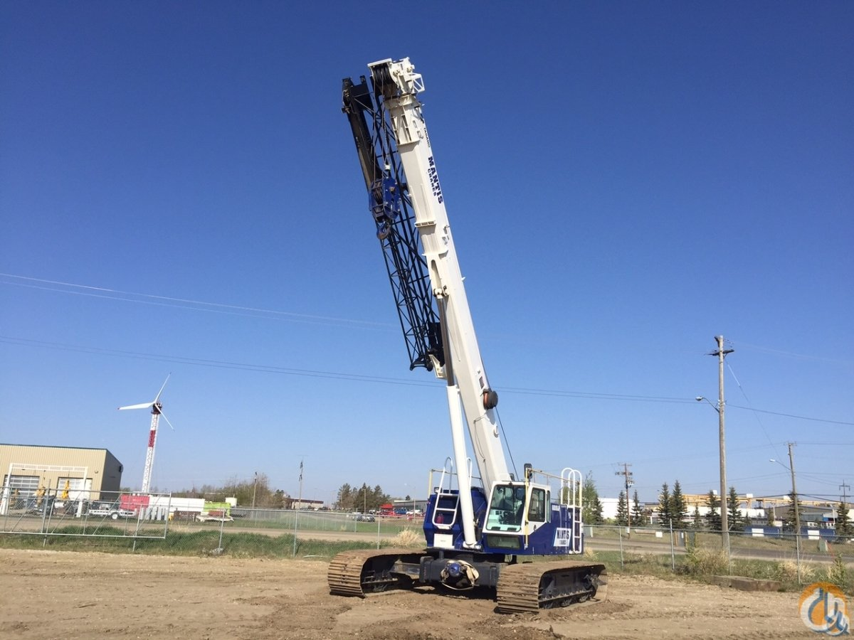 Telescopic Crane Tadano : Tadano mantis lp crane for sale in leduc alberta