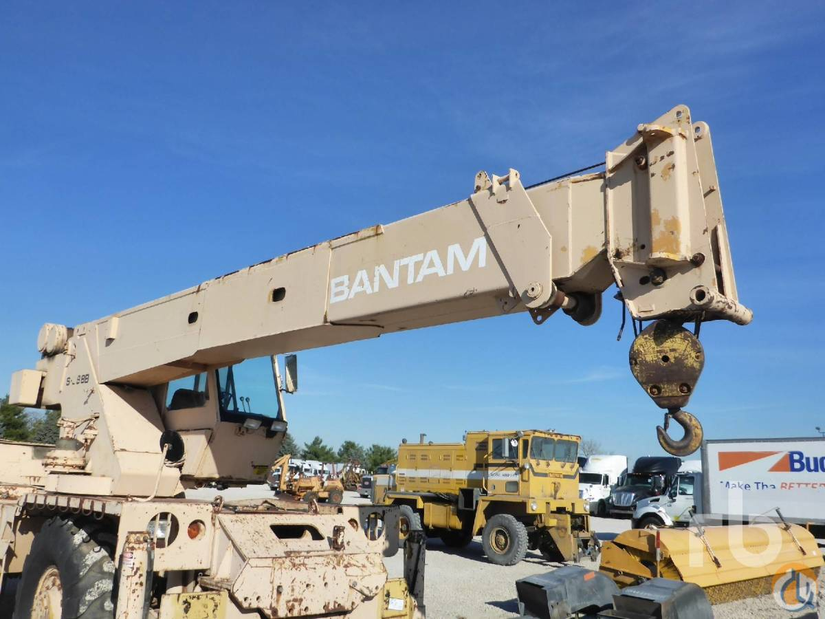 Sold BANTAM S888B Crane for  in Chicago Illinois on CraneNetworkcom