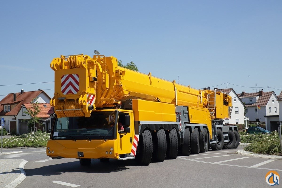 2012 LIEBHERR LTM 1750-9.1 Crane for Sale on CraneNetwork.com