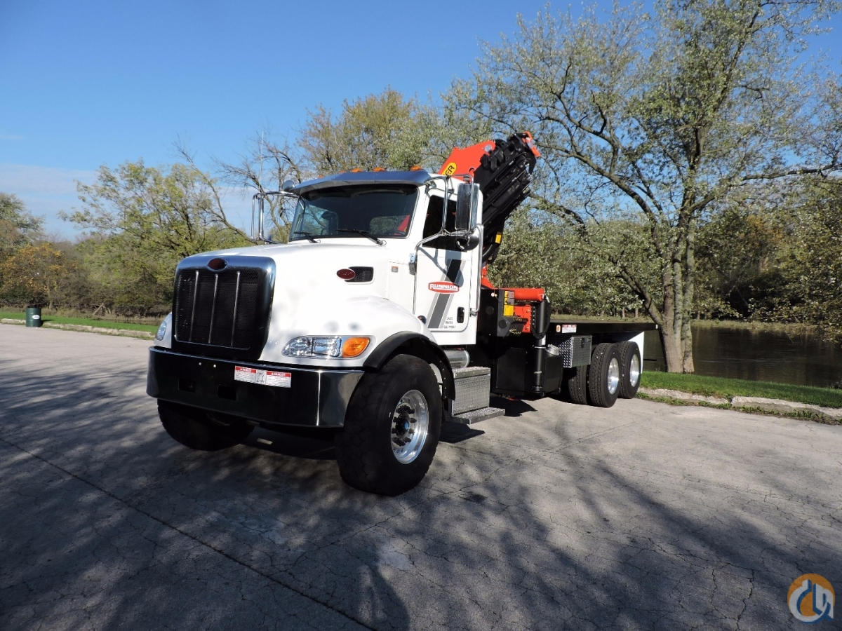 PALFINGER PK26002EH knuckleboom 2018 Peterbilt 348 Crane for Sale or Rent in Lyons Illinois on CraneNetwork.com