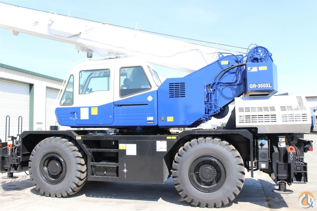 2016 TADANO GR350XL Crane for Sale or Rent in Sacramento California on CraneNetwork.com