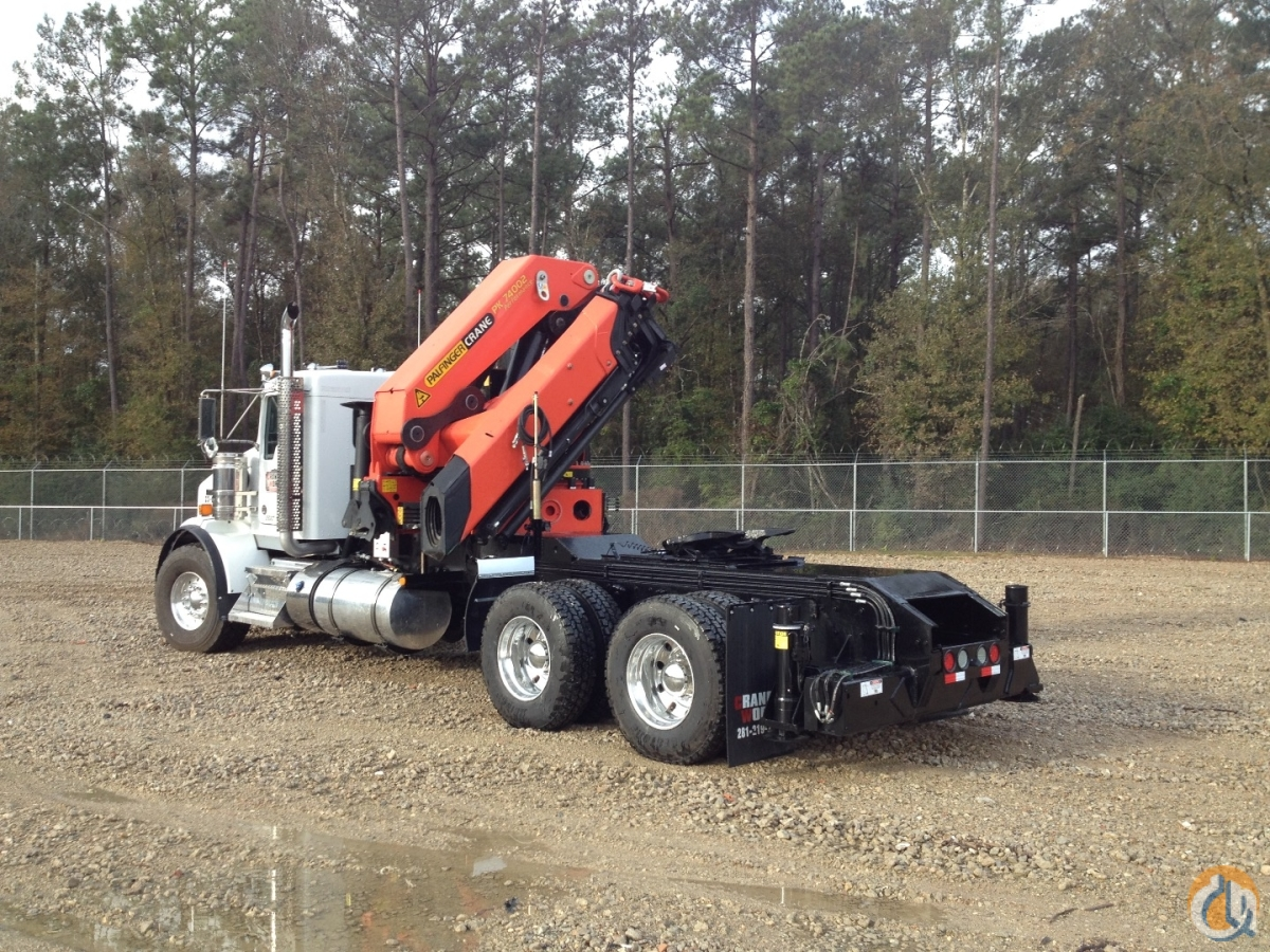 Palfinger PK 74002 C Performance knuckle boom mounted to 2015 Kenworth T800 tractor Crane for Sale in Branchburg New Jersey on CraneNetworkcom