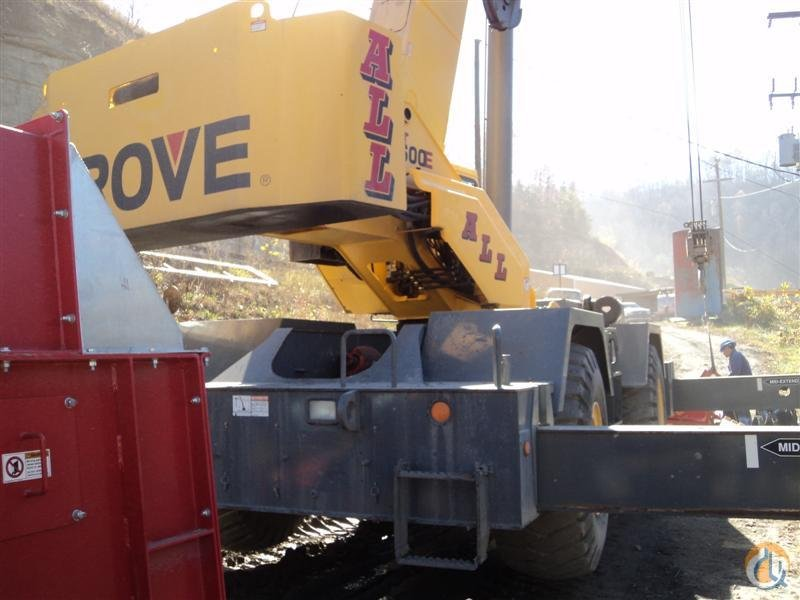 Grove RT650E For Sale Crane for Sale in Knoxville Tennessee on CraneNetworkcom
