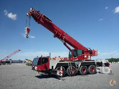 Sold 2002 DEMAG AC80-2 100 Ton 8x6x6 All Terrain Crane Crane for  in Houston Texas on CraneNetworkcom