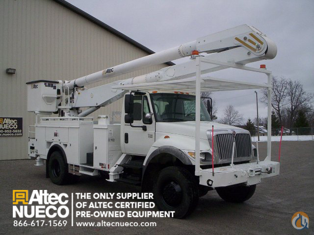 2006 ALTEC AA755-MH Crane for Sale in Fort Wayne Indiana on CraneNetworkcom