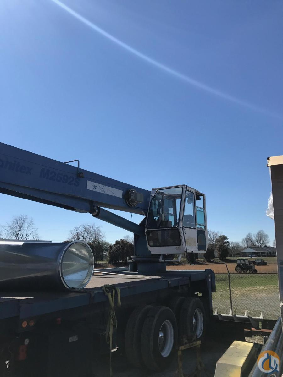 Sold 1997 Manitex M2592 Crane for  in Guntersville Alabama on CraneNetwork.com
